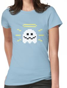 8-Bit Holy Ghost Womens Fitted T-Shirt