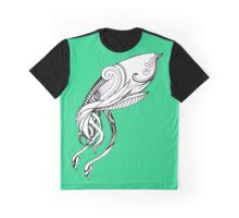 Inky Squid Graphic T-Shirt