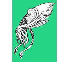 Inky Squid Photographic Print