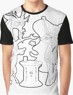Kouma Nippon Graphic T-Shirt