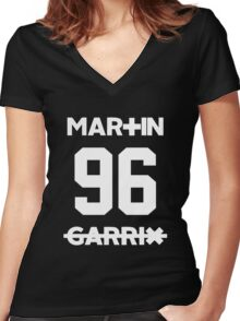 martin garrix Women's Fitted V-Neck T-Shirt
