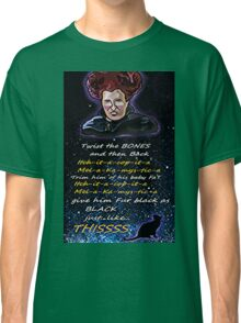 Hocus pocus Twist the bones Classic T-Shirt