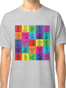Toys For Games Color Grid Classic T-Shirt