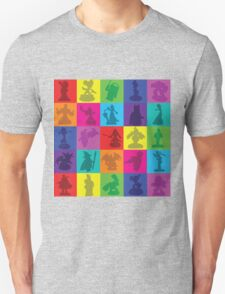 Toys For Games Color Grid Unisex T-Shirt