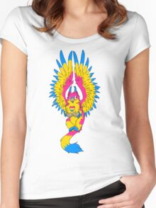 Pansexual Pride Griffin Women's Fitted Scoop T-Shirt