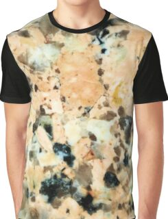 Cool Trendy Modern Stylish Colorful Granite Crystal Rock Patterns Graphic T-Shirt