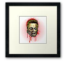 Bullet Head Framed Print