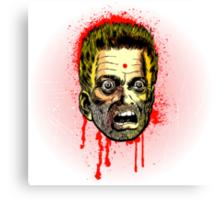 Bullet Head Canvas Print