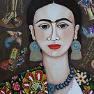 "Frida: ""Feet, what do I need you for If I have wings to fly?"" by Madalena Lobao-Tello"