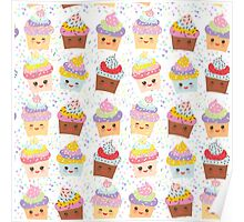 Yummy cupcakes Poster