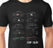 Classic Car Quiz Unisex T-Shirt