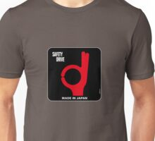 Safety Drive – Made In Japan Unisex T-Shirt