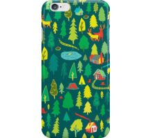 Green Forest Pattern iPhone Case/Skin
