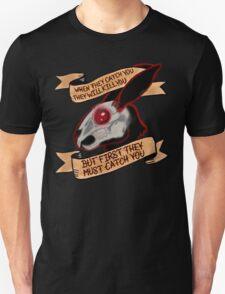 Black rabbit of inle (plain background) Unisex T-Shirt