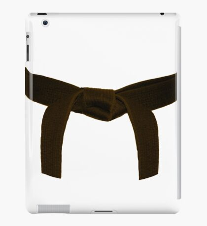 Martial Arts Brown Belt iPad Case/Skin