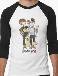 Kian & Jc Men's Baseball ¾ T-Shirt