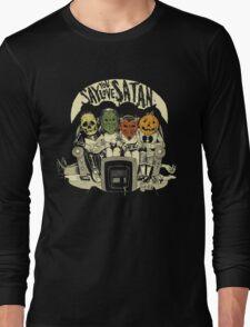 Say You Love Satan 80s Horror Podcast Logo Long Sleeve T-Shirt