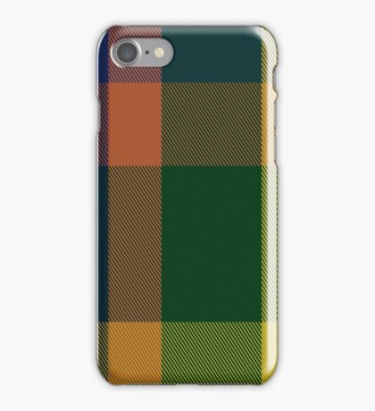 01290 San Diego Salsa Fashion Tartan  iPhone Case/Skin