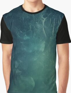 Abstract Green Graphic T-Shirt