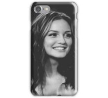 Blair Waldorf Black and White.  iPhone Case/Skin