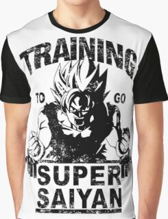 Training to go ssj - vintage Graphic T-Shirt