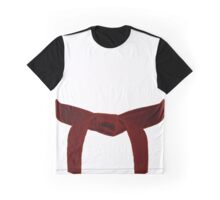 Martial Arts Red Belt Graphic T-Shirt