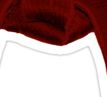 Martial Arts Red Belt Sticker