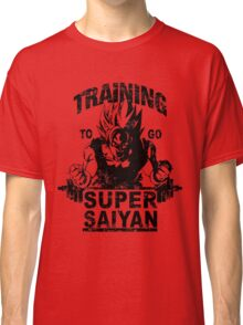 Training to go ssj - vintage Classic T-Shirt