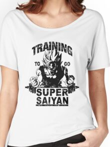 Training to go ssj - vintage Women's Relaxed Fit T-Shirt