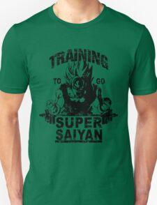 Training to go ssj - vintage Unisex T-Shirt
