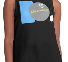 The Real Milwaukee Flag by Piece Mil Contrast Tank