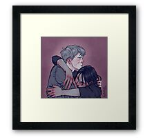 Scars and Bruises Framed Print