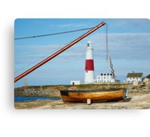 A different view of Portland Bill lighthouse Canvas Print