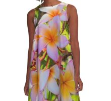 Summer Lovin' and island flowers A-Line Dress