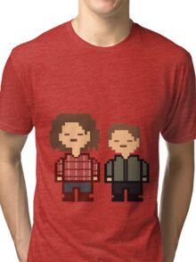 Sam and Dean Winchester Inspired by Undertale - Supernatural Tri-blend T-Shirt