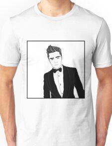 Chuck Bass - Black and White Unisex T-Shirt