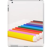 colored pencils iPad Case/Skin