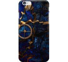 Compass of time iPhone Case/Skin