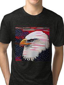 Patriotic Eagle Tri-blend T-Shirt