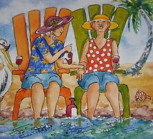 Spa Treatment by Jeanne Vail