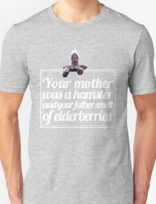Monty Python - French Taunter (White font) T-Shirt