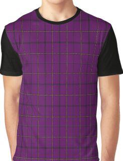 01375 Western Carolina University Tartan Graphic T-Shirt