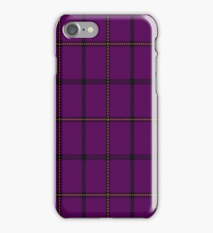 01375 Western Carolina University Tartan iPhone Case/Skin