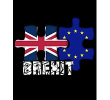 Vote Brexit, Funny UK Independence Day 2016, British T-Shirt Photographic Print
