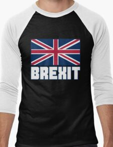 Vote Brexit, Funny UK Independence Day 2016, British T-Shirt Men's Baseball ¾ T-Shirt