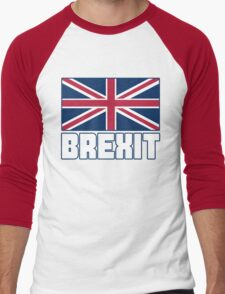 Vote Brexit, Funny UK Independence Day 2016, British T-Shirt Men's Baseball ¾ T-Shirt