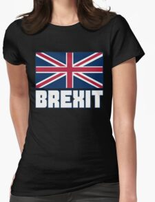 Vote Brexit, Funny UK Independence Day 2016, British T-Shirt Womens Fitted T-Shirt