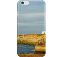Morning at Portland Bill Lighthouse iPhone Case/Skin
