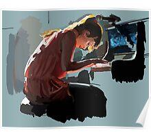 Fiona Apple Speed Paint Poster
