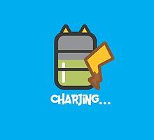Charjing... by pixelwolfie